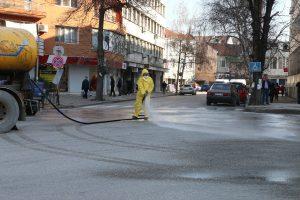 Започна миенето на улици във Видин (СНИМКИ)