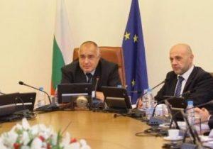Бойко Борисов и членовете на правителството ще дарят по 1000 лв. от заплатите си за социално слаби семейства