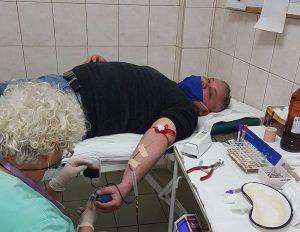 Общински съветник във видин даде пример с кръводаряване