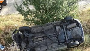 Баща и 10-годишния му син са в болница, след удар в дърво на бившето летище в Иново