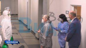 След призив на областният управител: ВМА прати свои хора за дезинфекция на болницата (видео)