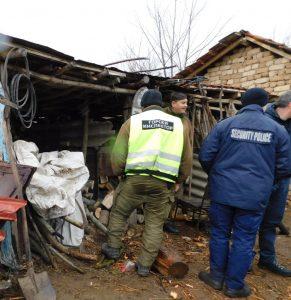 Намериха малко над кубик незаконни дърва в частен имот в Дунавци