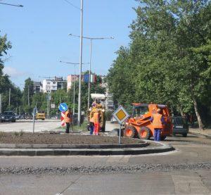 """Ще затварят участъци по булевард """"Панония"""" във Видин, заради ремонти на кръгови кръстовища"""