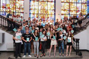 """Видинският кмет връчи дипломите на зрелостници от СУ """"Цар Симеон Велики""""(Снимки)"""
