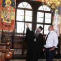 Глобиха Борисов с 300лв. за влизане без маска в Рилския манастир
