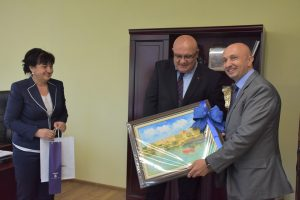 Кметът на Видин прие посланикът на Сърбия у нас (Снимки)