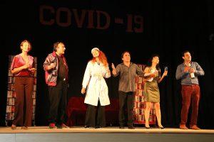 Първо представление на сцената на обновения видински театър (Снимки)