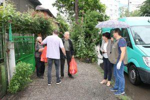 Община Видин получи дарение с хранителни продукти за 100 души( Снимки)