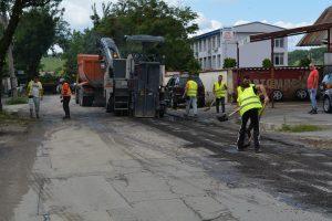 С 3 млн. лева преасфалтират основни улици в четири зони на Монтана