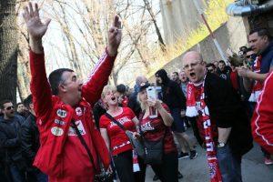 Полицията предотврати напрежение между фенове на ЦСКА-София и Ботев-Пловдив
