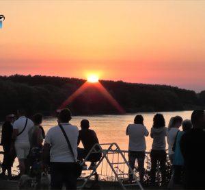 Видин посрещна изгрева на Джулай Морнинг с фотоизложба и конкурс (Видео)