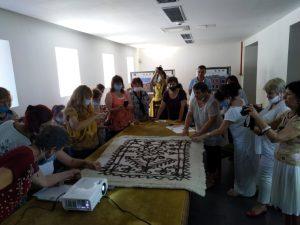 От руното до плъстения килим (Снимки)