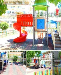 Община Берковица обнови детските площадки в града