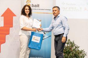 Г-жа Десислава Цокова – старши учител в ПГАЗ – Видин, получи престижна награда от участие в конкурс на БАИТ