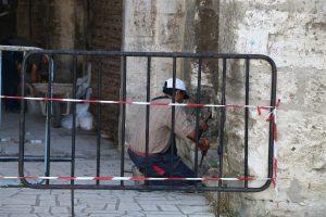 Временно преминаването на граждани през Стамбол капия е преустановено (Снимки)