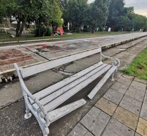 Вандалските прояви във Видин не спират! (Снимка+Видео)
