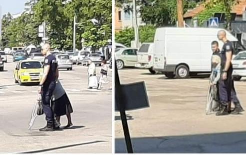 Видински полицаи достойни за пример (Снимки)