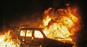 Полицаи заловиха престъпник подпалил кола в Оряхово