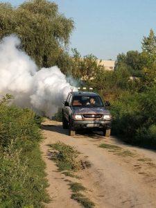 Поредна комбинирана обработка против комари във Видин