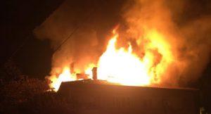 Огнеборци потушиха пожар в къща в Брегово