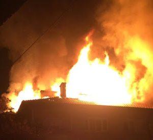 Видински огнеборци гасиха пожар в къща