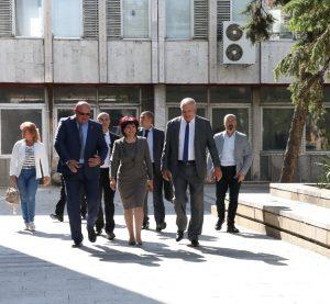 Председателят на Народното събрание на посещение във Видин(Снимки)