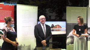Посланикът на Ирландия откри изложба за Джеймс Джойс във Видин (Видео)