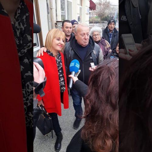 Манолова днес ще се срещне с гражданите на Видин