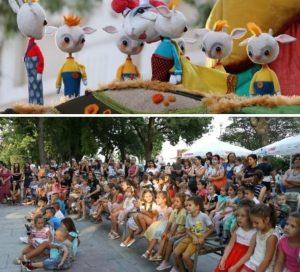 Куклено представление за видинските деца по случай 15 септември(Снимки)