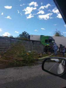 Вчерашната катастрофа в Медовница с множество материални щети