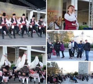 """Празничните изяви по случай Димитровден започнаха с концерт на Ансамбъл """"Дунав""""(Снимки)"""