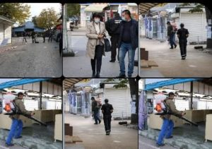 Въведоха еднопосочно движение на Общинския пазар във Видин