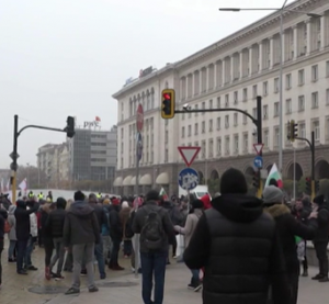 Протест пред МС срещу новите мерки срещу коронавируса
