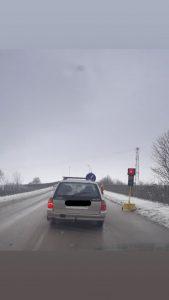 Ограничено движение в посока Брегово, заради ремонт на надлеза. Вижте до кога?(Снимки)