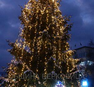 Вълшебството на предстоящите коледно – новогодишни празници завладя и Берковица