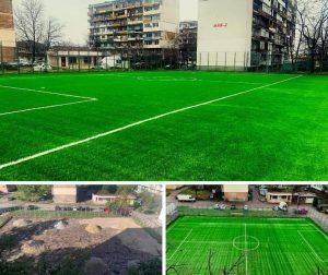 Изграждането на игрище във Врачански квартал е на финала