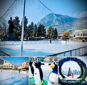 Ледената пързалка във Враца отвори врати! (Снимки)