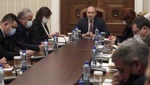 Политическите партии при президента за консултации за изборите. ОП отказаха да присъстват