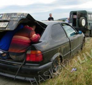 Спипаха дрогиран видинчанин да превозва непълнолетни бежанци