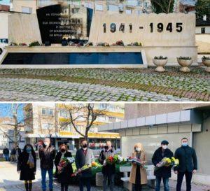 Във Враца почетоха паметта на жертвите от бомбардировките през 1944  година