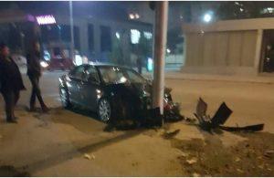 С 2,73 промила алкохол шофьор се заби в стълб във Видинско