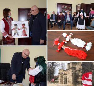 Подаръци и поздравления за Баба Марта получи кметът и общинското ръководство на Видин (Снимки)