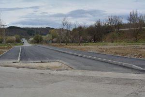 """Квартал """"Пъстрина"""" в Монтана вече с пряк вход-изход от града (Снимки)"""