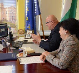 Кметът на Видин и посланикът на Китай обсъдиха във видеоконферентна връзка възможностите за икономическо и културно сътрудничество (Снимки)