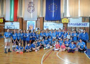 Десетки видински деца се включиха във волейболен празник (Снимки)