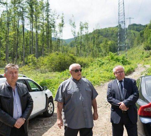 """Министър Личев: Никога не е ставало въпрос, дали да има или не тунел под """"Петрохан""""(Видео/Снимки)"""