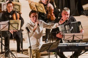 """Симфониета-Видин гостува на концерт-спектакъл по случай 130-тата годишнина на Общински драматичен театър """"Владимир Трандафилов"""""""